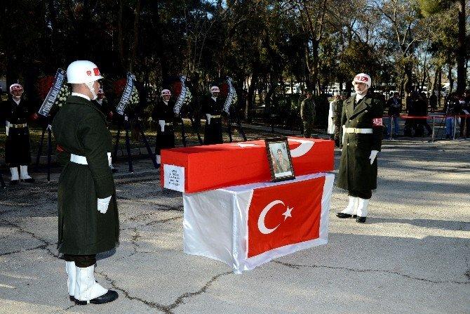 Şehit Jandarma Uzman Çavuş Cin, Törenle Memleketine Uğurlandı