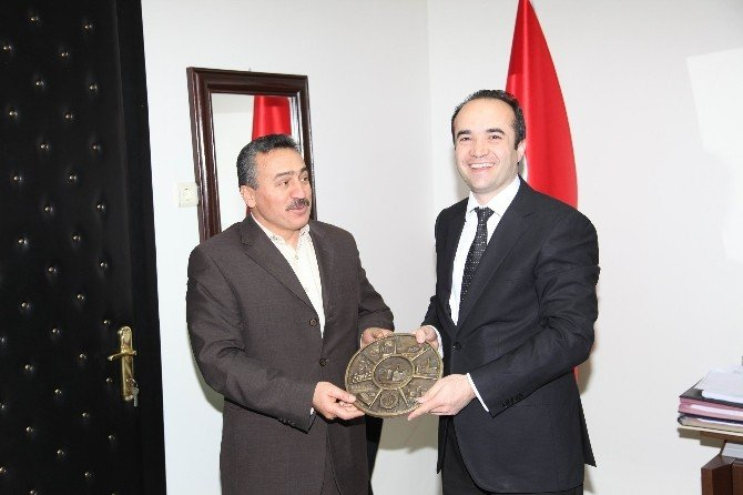 Başkan Tutal'dan Kurum Müdürlerine Ziyaret
