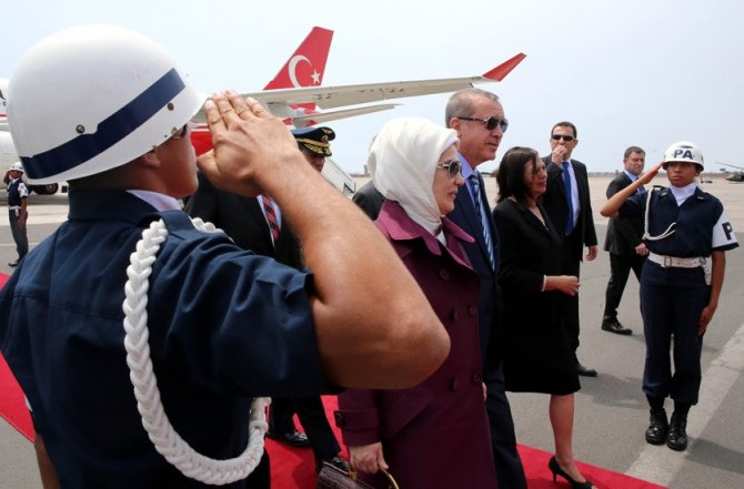 Cumhurbaşkanı Erdoğan, Peru'da