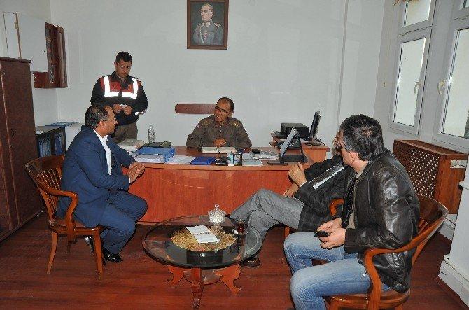 Mülteci Hakları Komisyonu Üyeleri Facia Alanında
