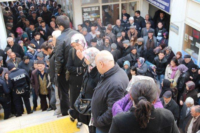 Karaman'da Emekli Konutları İçin Kura Çekilişi Yapıldı