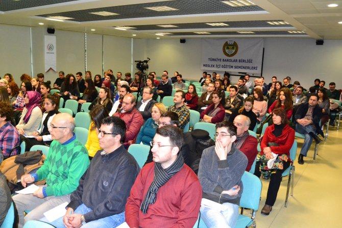 Barolar Birliği'nden tüketici hukuku semineri