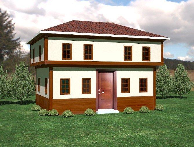 Ünye'de Muhtar Evlerinin İkincisi Yapılıyor