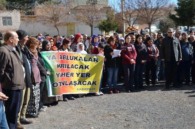 Viranşehir'de Protesto Eylemi