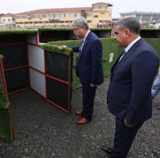 Çöp Konteynerlerine Kafes Uygulaması Geliyor