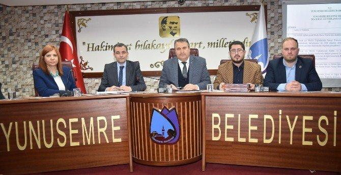 Yunusemre Belediyesi Şubat Ayı Meclis Toplantısı Gerçekleştirildi