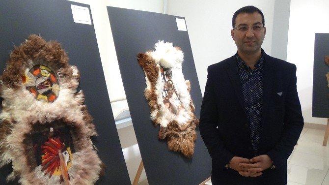 Isparta'da 'Orta Asya'dan Anadolu'ya Kızıldereli Sembolleri' Sergisi