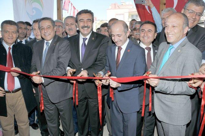 Çukurova Belediyesi'nce yaptırılan taziye ve cemevinin açılışı yapıldı