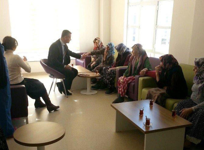 Aile Ve Sosyal Politikalar İl Müdürü Tosya Huzurevini Ziyaret Etti