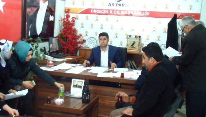 AK Parti Birecik Teşkilatı, Kılıçdaroğlu Hakkında Suç Duyurusunda Bulundu