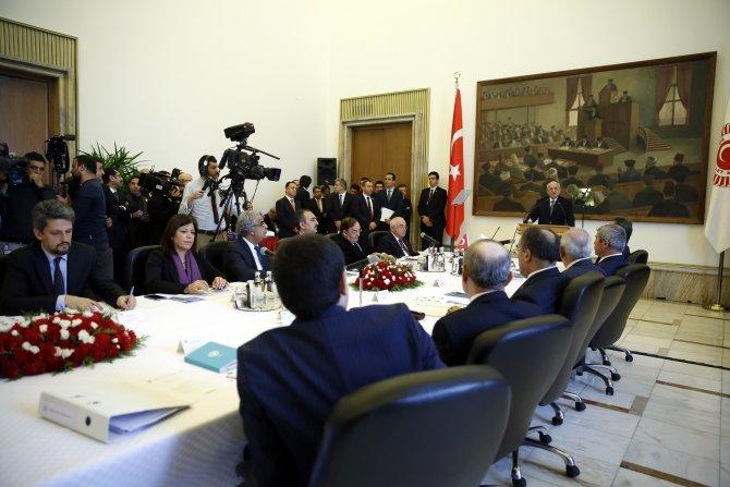 Anayasa Uzlaşma/Mutabakat Komisyonu toplantısı başladı