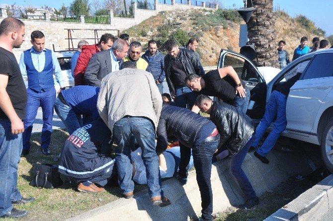 Antalya'da Kaza Ucuz Atlatıldı: 1 Yaralı