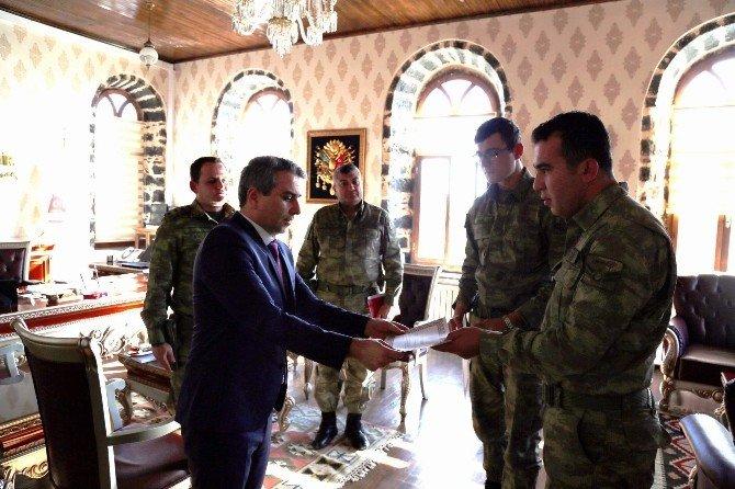 Siverekli Askeri Personel Ödüllendirildi