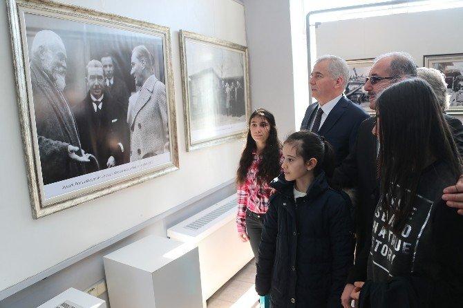 Atatürk'ün Denizli'ye Gelişinin Yıldönümü Nedeniyle Tören Düzenlendi
