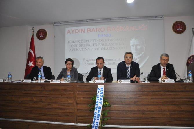 Baro Başkanı Antmen: Hukuk devletini siyasetçilere bırakmamamız gerekiyor