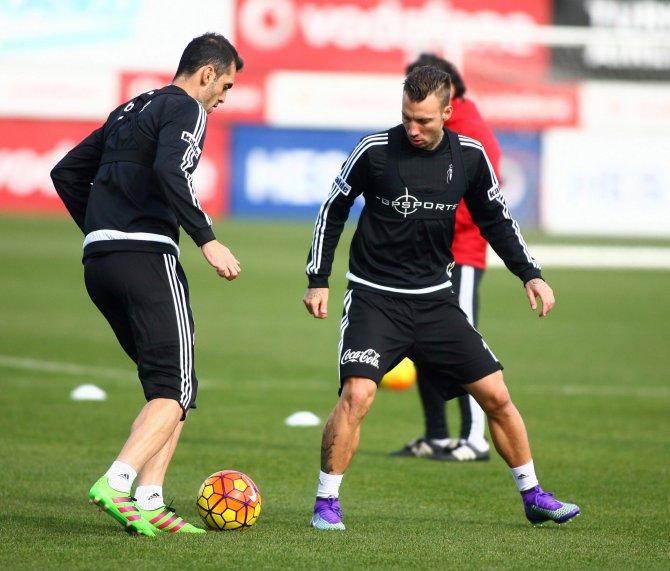 Beşiktaş'ta Gaziantepspor maçı hazırlıkları devam etti