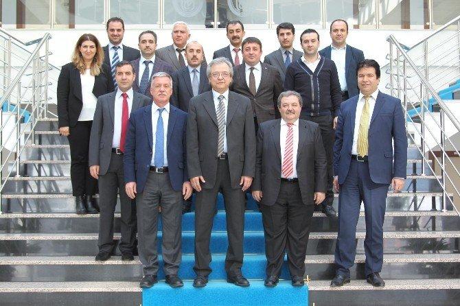 BEÜ'de Kalite Yönetim Sistemi Dış Değerlendirme Toplantısı