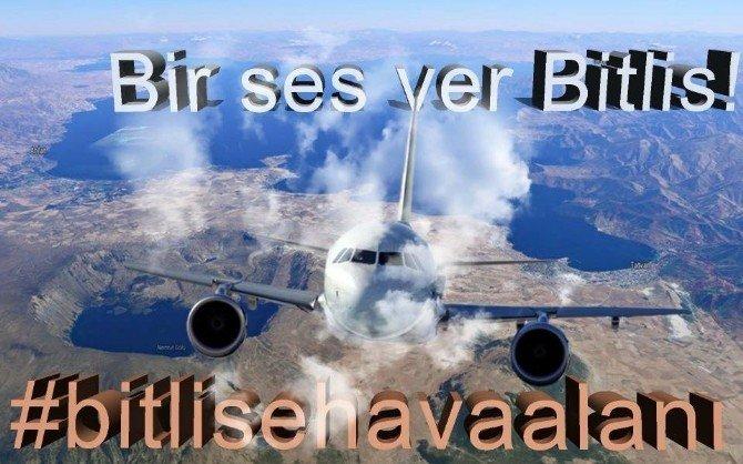 Bitlisliler Havaalanı İstiyor