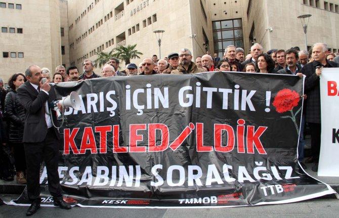 '10 Ekim mağdurları değil, katilleri yargılansın'