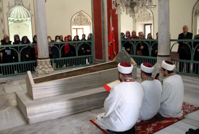 Sultan Murad'ın 5 asırlık vasiyeti hatim duasıyla tamamlandı