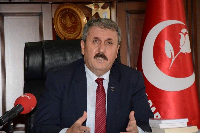 BBP lideri: Bülent Arınç'a tepki verenler Oda Tv'ye neden tepki vermiyor