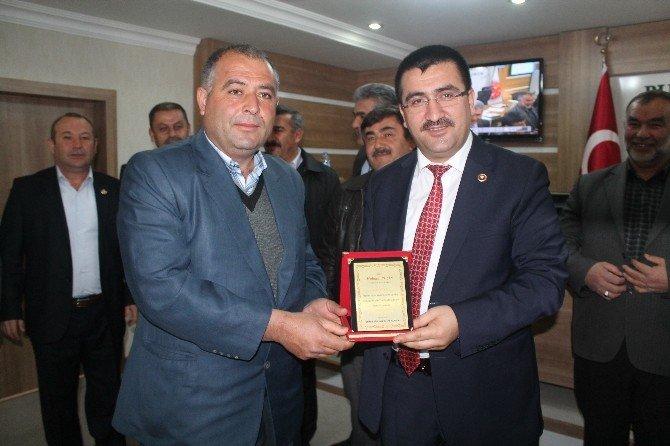 Çamardı'lı Muhtarlardan Meclis Üyelerine Teşekkür