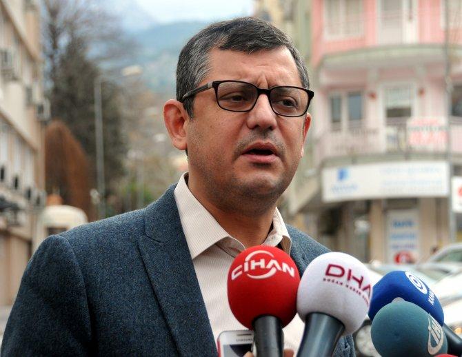 CHP Grup Başkan Vekili Özel: Arınç'ı cesur ve şeffaf olmaya davet ediyorum