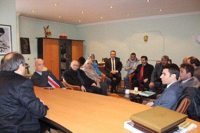 Milletvekili Mustafa Ilıcalıdan Dagc'ye Ziyaret