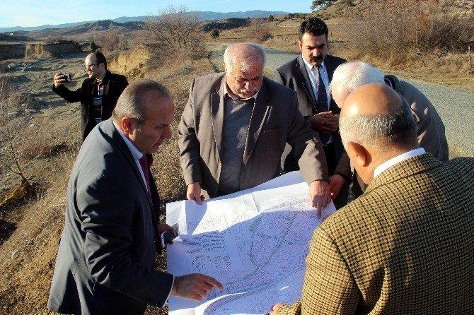 DSİ Bölge Müdürü Umucu, Başkan Arslan'ı Ziyaret Etti