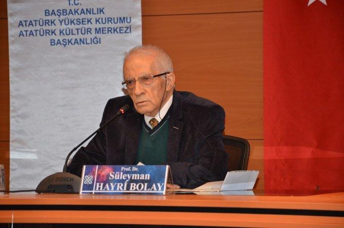 'Ziya Gökalp, Osmanlı düşmanlığının başlamasına vesile oldu'