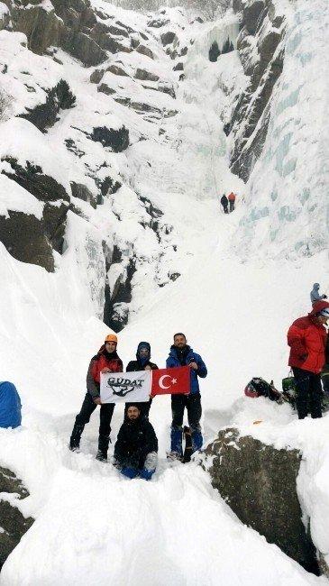 Güdat Buz Tırmanış Festivali'ne Katıldı