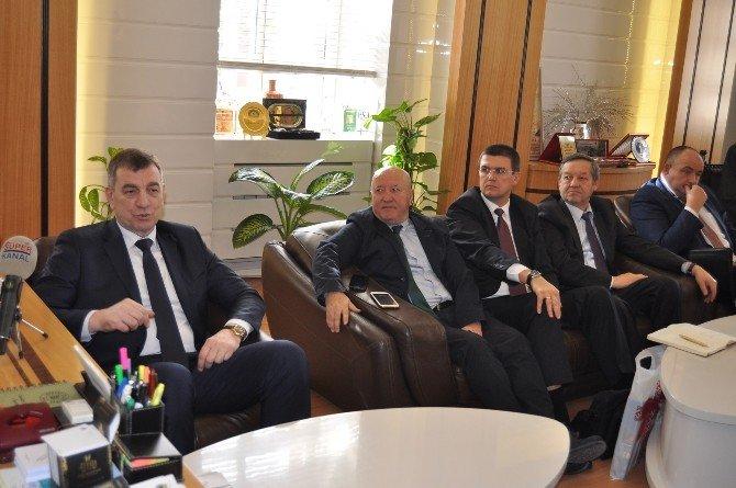 Belarus İle İnegöl Arasında İş Birliği