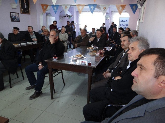 AK Parti Bilecik Milletvekili Eldemir Gölpazarı'nda
