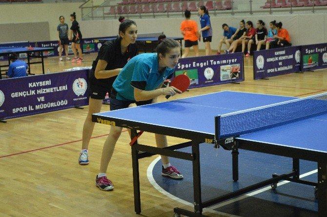 Genç-yıldız Kızlar Masa Tenisi Milli Takım Kampı Sona Erdi
