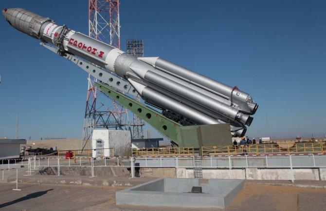 Baykonur'dan bu yıl 18 uzay aracı gönderilecek