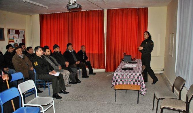 Jandarmadan 'Aile içi şiddetin önlenmesi' semineri