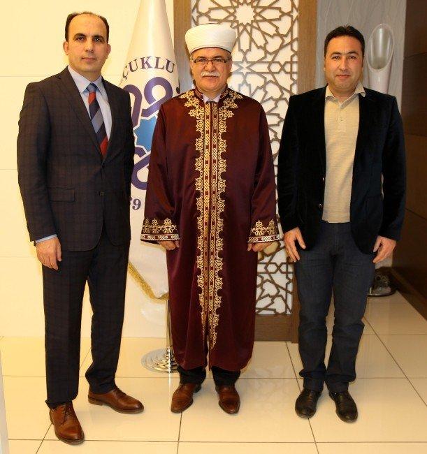KKTC Din İşleri Başkanı'ndan Başkan Altay'a Ziyaret