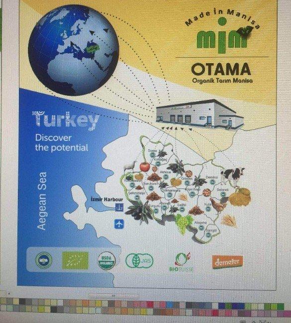 Manisa'nın Organik Ürünleri 2016 Bıofach Organik Tarım Fuarında Sergilenecek