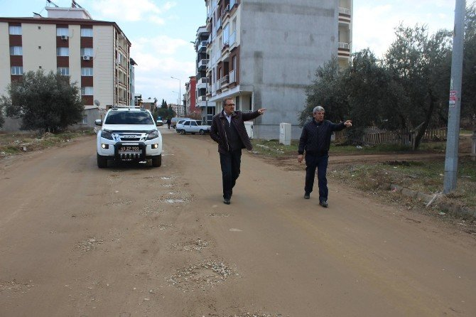 Alaşehir'de Açılmadık Yol Kalmayacak