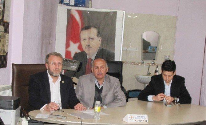 Milletvekili Ahmet Tan'ın Hisarcık Ziyareti