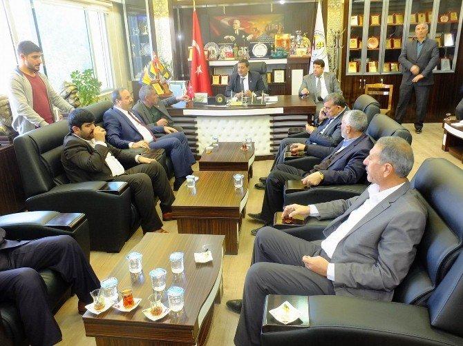 Özcan, Harran Belediyesi'ni Ziyaret Etti