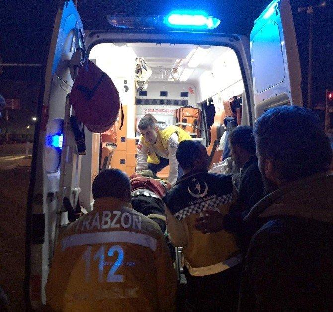 Trabzon'da Ambulansla Otomobil Çarpıştı: 1 Ölü