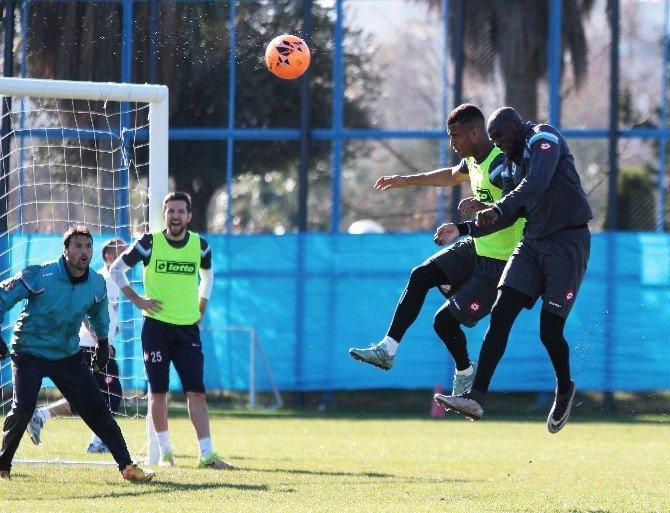 Adana Demirspor, Boluspor Maçı Hazırlıklarını Sürdürüyor