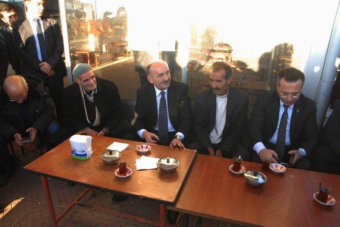 Bakan Müezzinoğlu'nun Diyarbakır Temasları