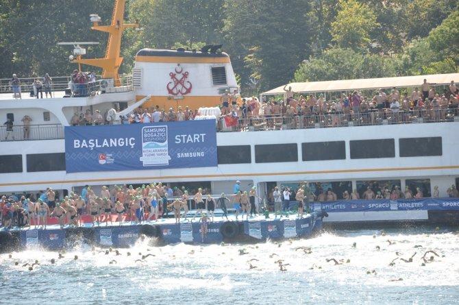 Samsung Boğaziçi Kıtalararası Yüzme Yarışı'nda heyecan başlıyor