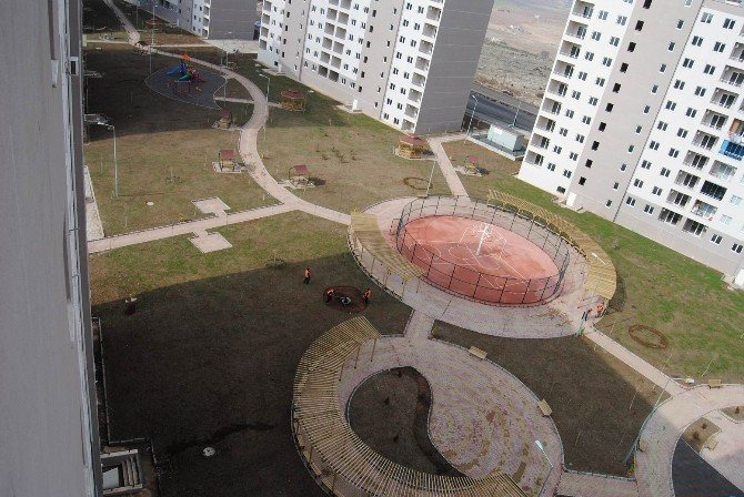 Şanlıurfa'da Park Ve Yeşil Alan Çalışması Yapılıyor