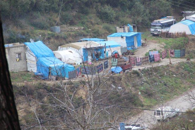 Türkmen Dağı çadır dağına döndü, yıkılan köyler hayalet şehri andırıyor