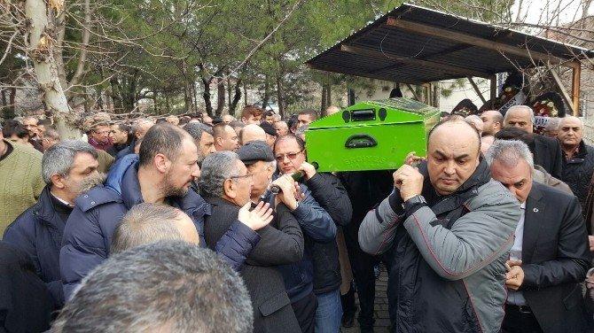 Gazeteci Ersözlü Son Yolculuğuna Uğurlandı