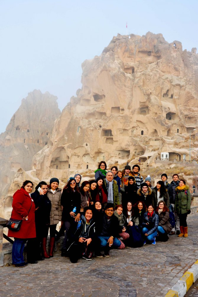 Çankayalı gönüllüler Kapadokya'da