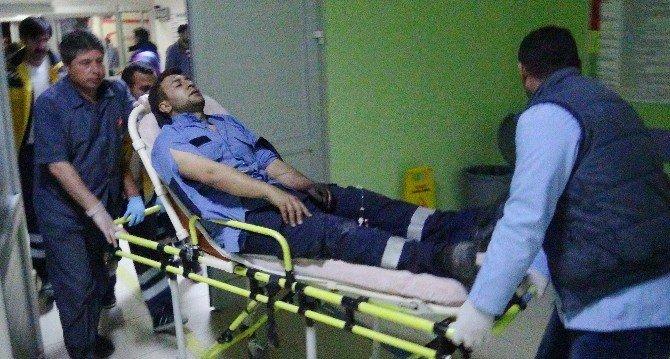 Trafodaki Arızayı Tamir Ederken Yaşanan Patlamada 2 İşçi Yaralandı